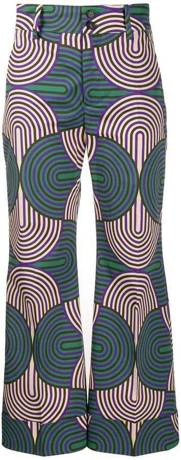 Hendrix printed trousers
