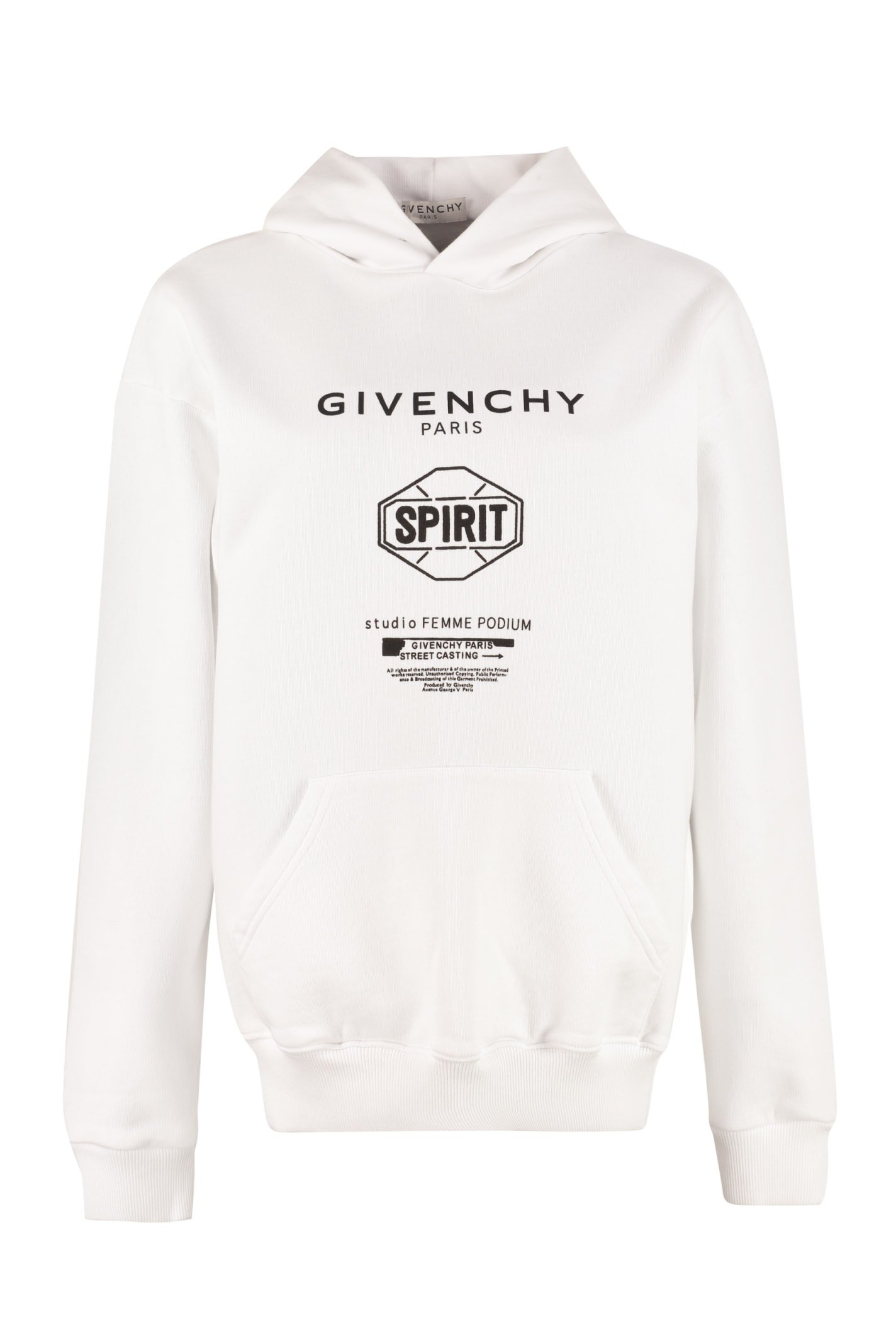 Givenchy Cotton Sweatshirt With Printed Logo