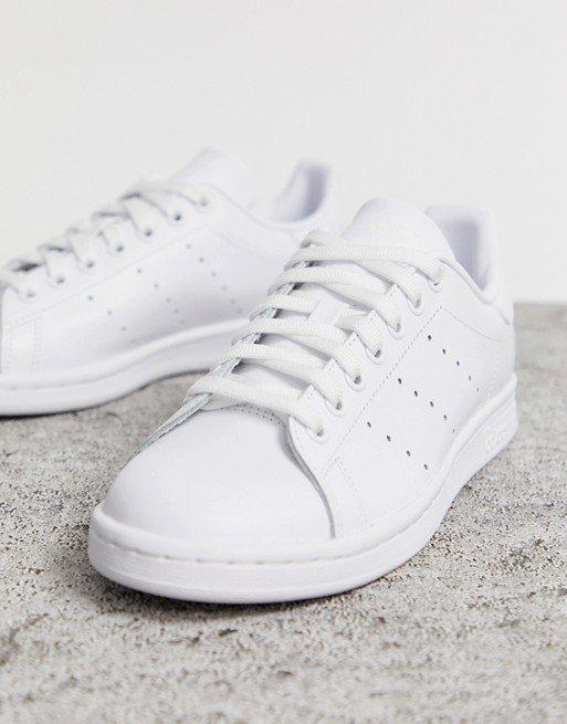 adidas Originals white Stan Smith trainers   ASOS