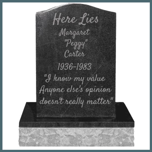Peggy Carter Grave
