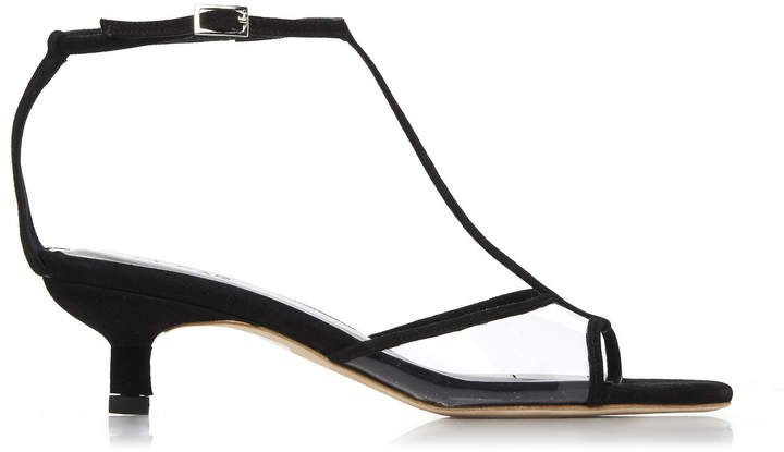 Baby Suede Pvc Sandals