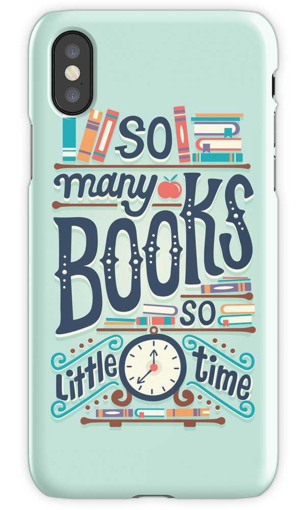 """""""So many books so little time"""" iPhone Cases & Covers by Risa Rodil 