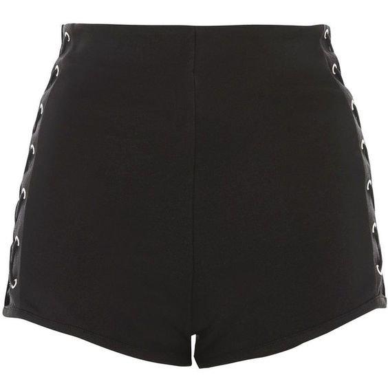Topshop Lace Side Knicker Shorts