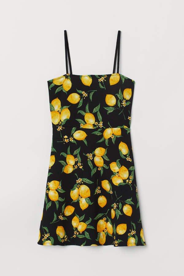 Short Dress - Yellow