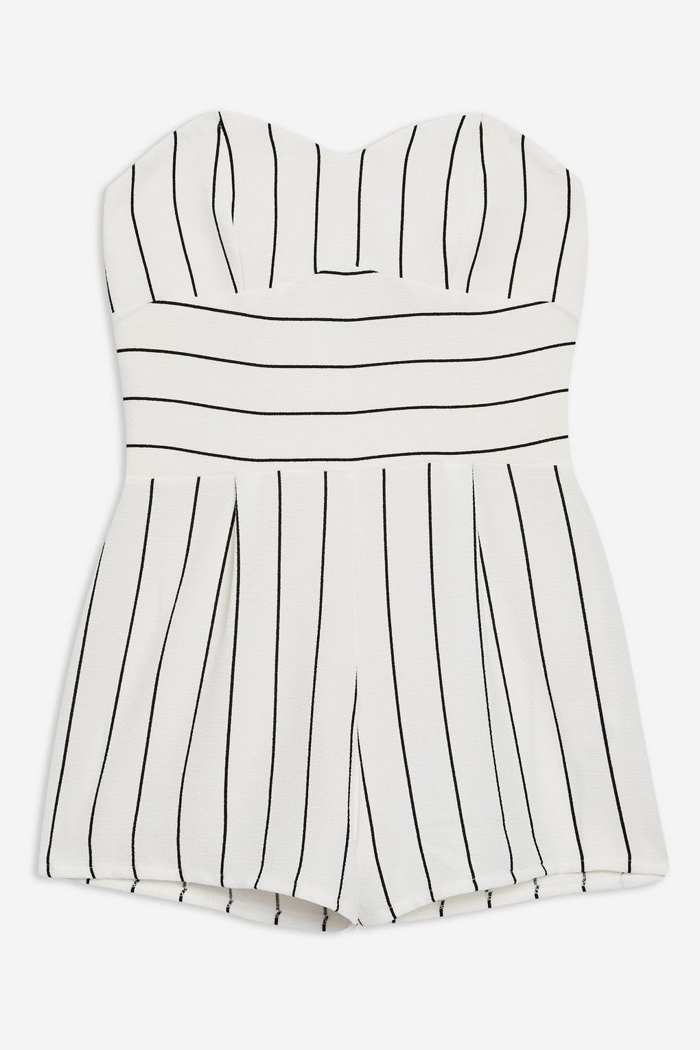 **Strapless Playsuit by Love - Playsuits & Jumpsuits - Clothing - Topshop