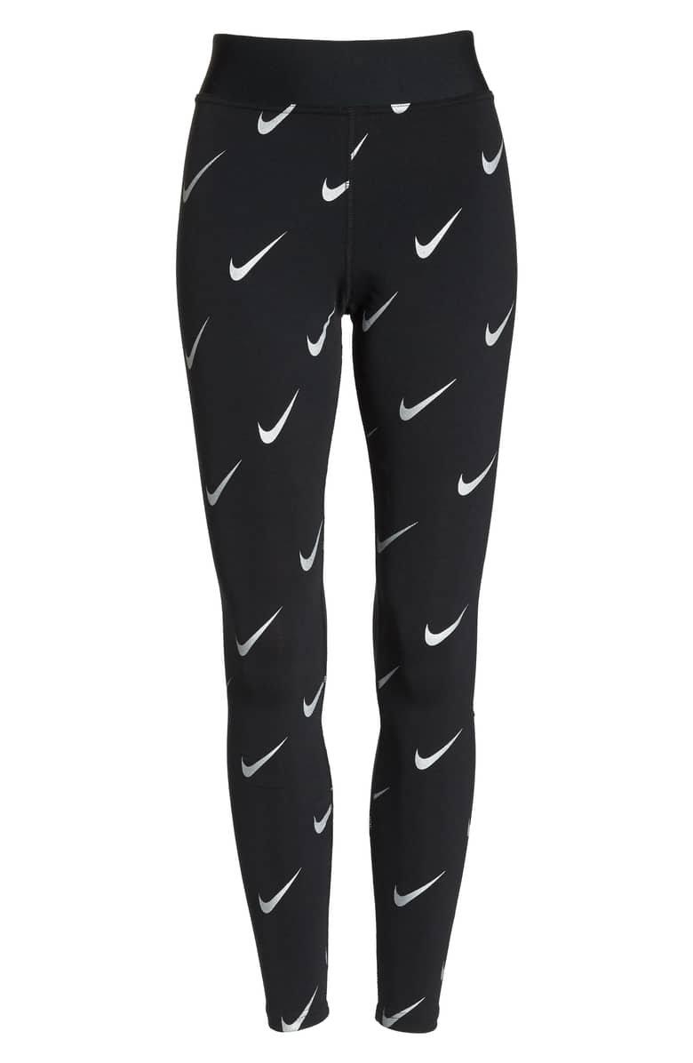 Nike Sportswear Allover Print Logo Leggings | Nordstrom