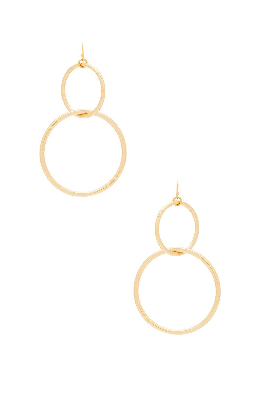 The Interlocking Hoop Earrings