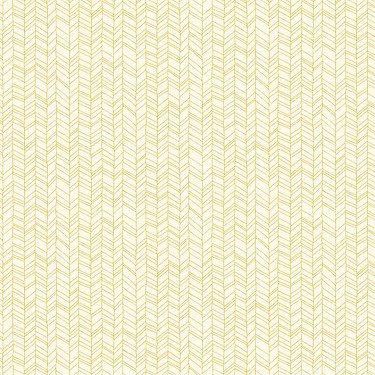 Herringbone in White and Pickle