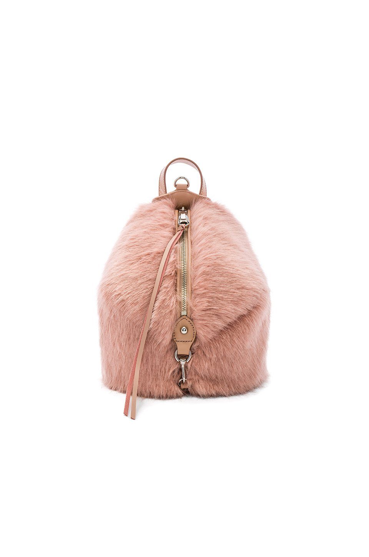 Faux Fur Mini Julian Backpack