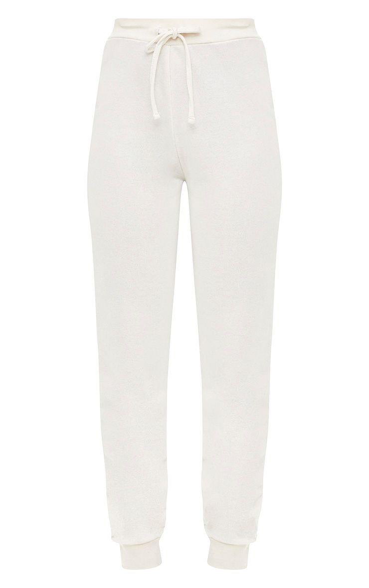 Cream Ultimate Sweat Jogger | Pants | PrettyLittleThing USA