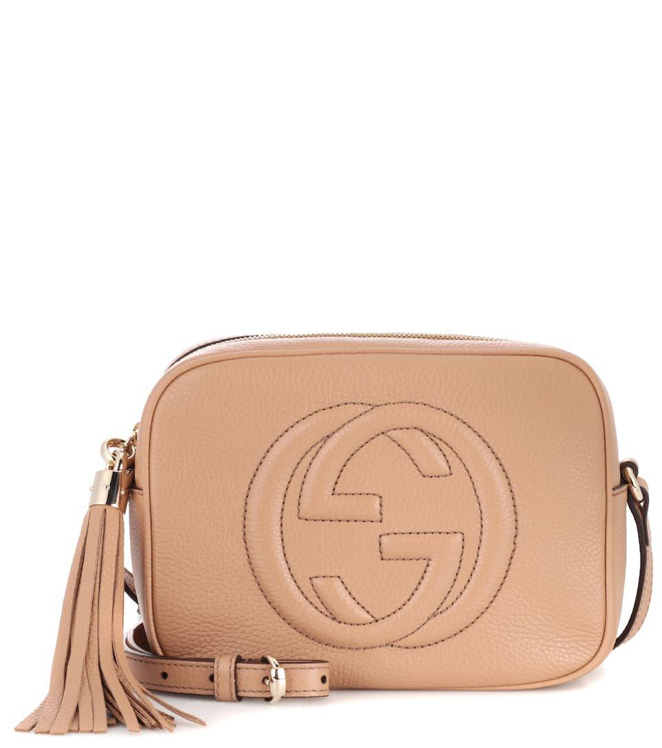 Soho Disco Leather Shoulder Bag - Gucci | mytheresa.com