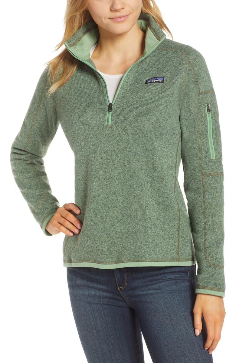 Patagonia Better Sweater Quarter-Zip Fleece Pullover   Nordstrom