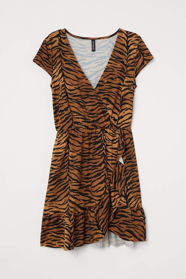 Wrap Dress - Beige