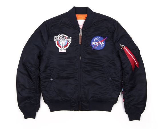 Billionaire Boys Club x Alpha Industries NASA MA-1 Flight Jacket