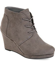 ZIGIny Zigi Soho Kerlynn Wedge Booties & Reviews - Boots - Shoes - Macy's