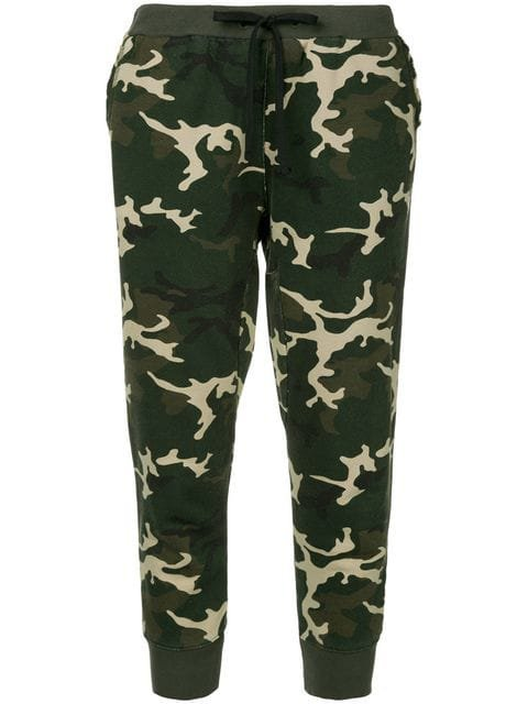 The Upside camouflage loungewear trousers