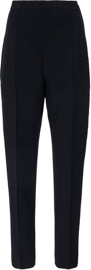 Andrew Gn High-Rise Crepe Tapered Pants Size: 34