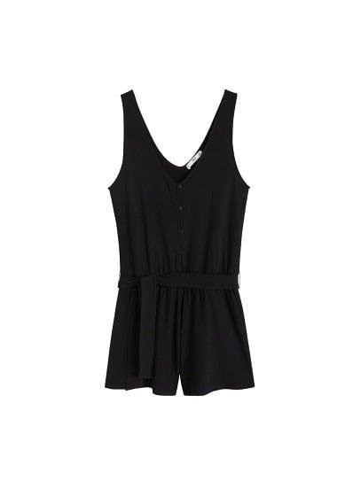 MANGO Short cord jumpsuit