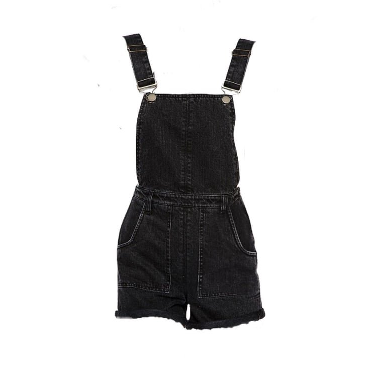 Black overall png