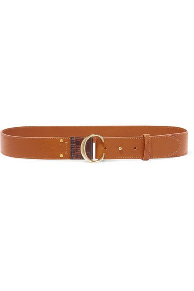 Chloé | Leather belt | NET-A-PORTER.COM