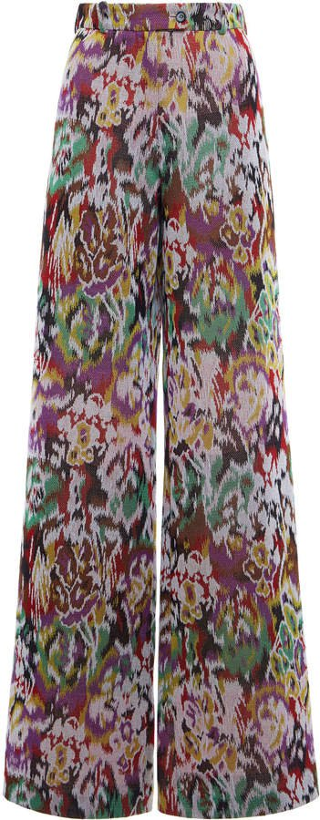 Missoni Printed High-Rise Tapered Pants Size: 38