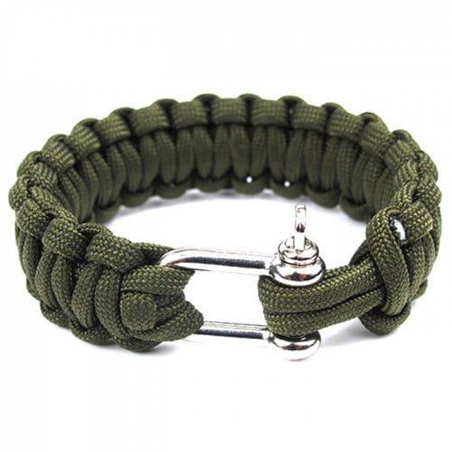 rope bracelet survival - Google Search