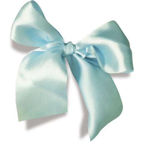 aqua blue bow filler