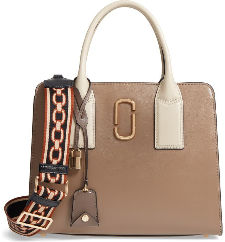 MARC JACOBS Big Shot Leather Tote | Nordstrom