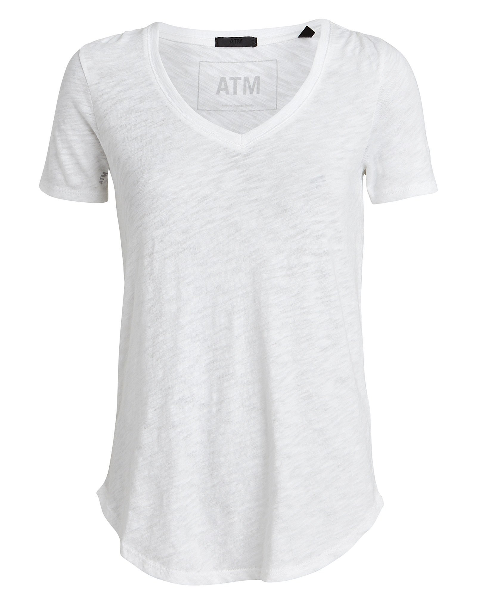 ATM Anthony Thomas Melillo | Slub V-Neck T-Shirt | INTERMIX®
