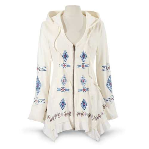 Boho Soho Long Jacket - Women's Romantic & Fantasy Inspired Fashions