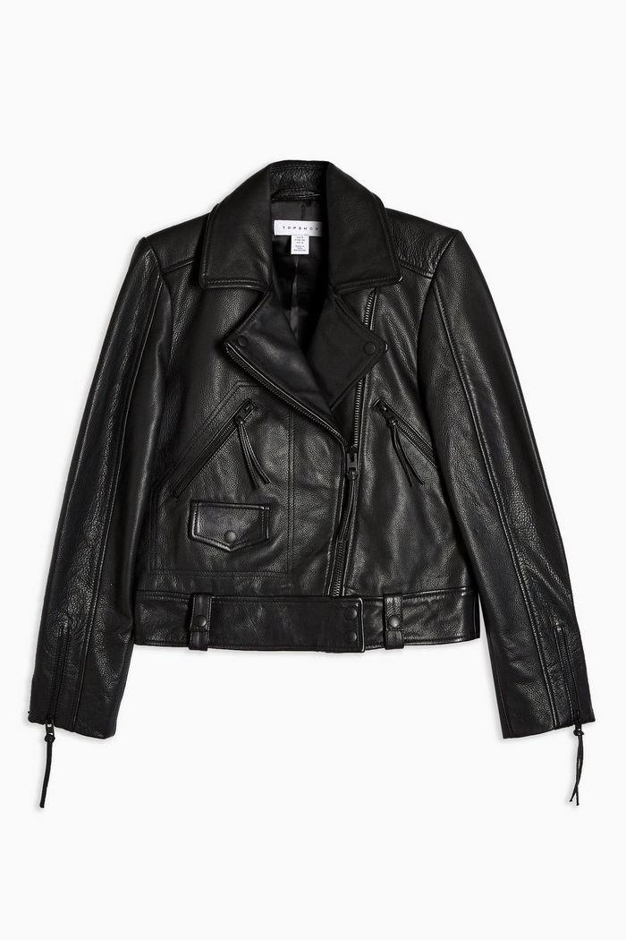 Leather Biker Jacket | Topshop