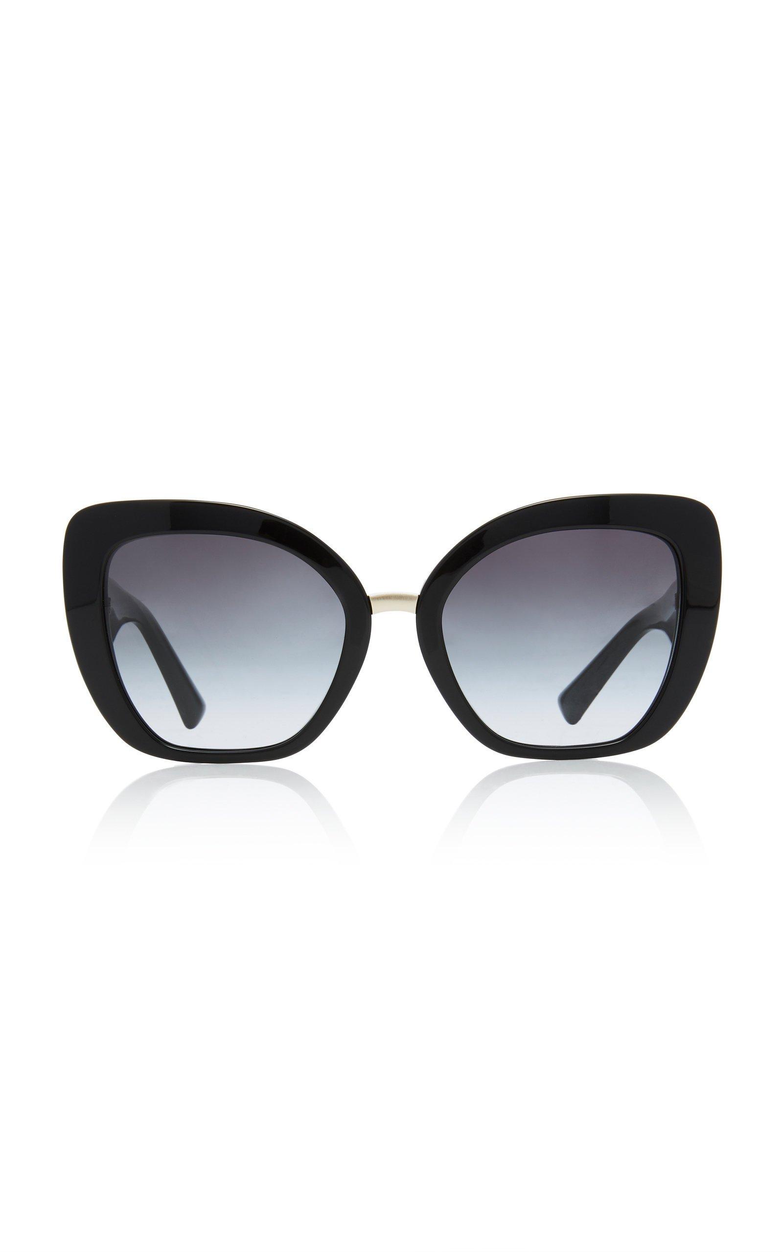 Valentino Square-Frame Tortoiseshell Acetate Sunglasses