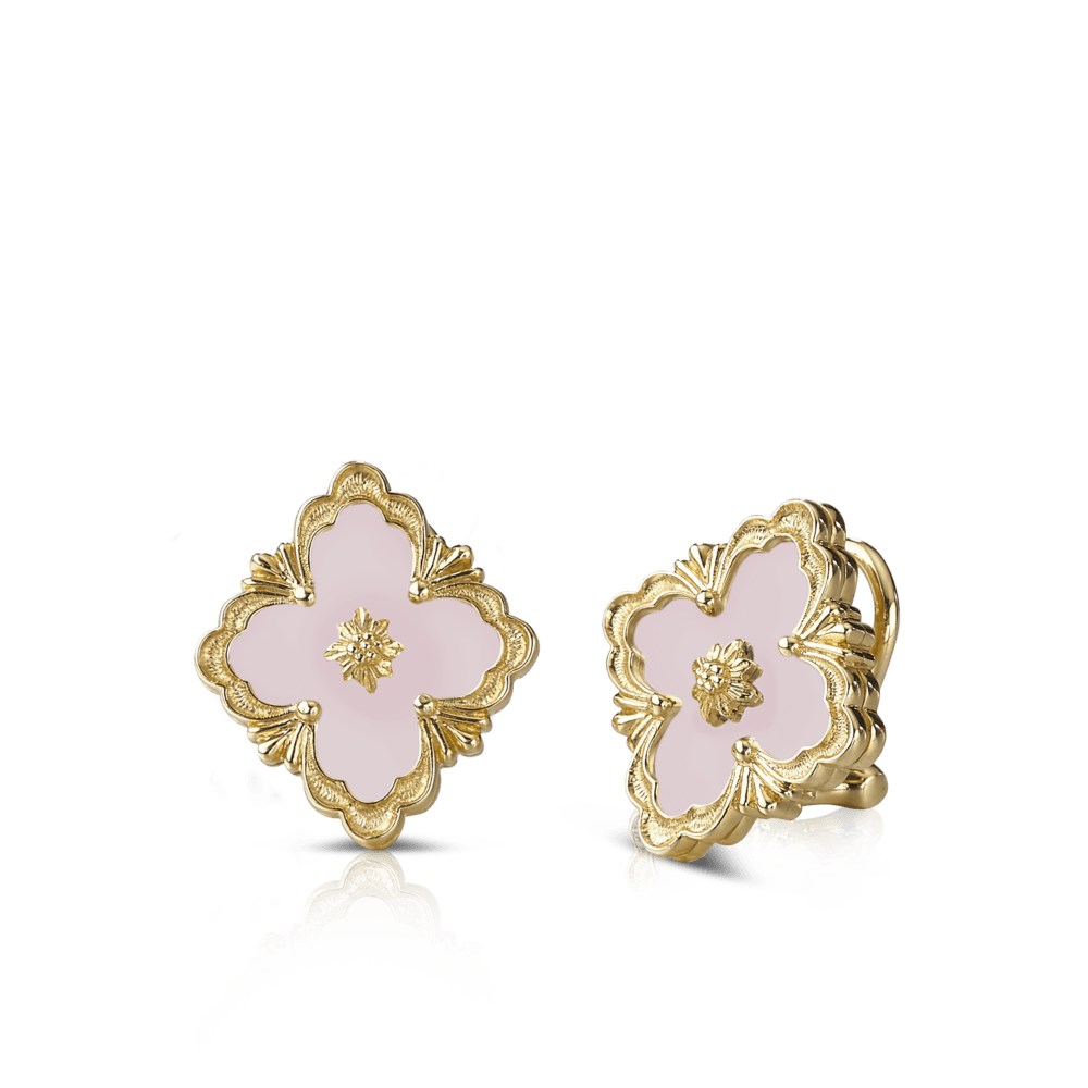 Opera Color Button Earrings - Icona | Official Buccellati Website