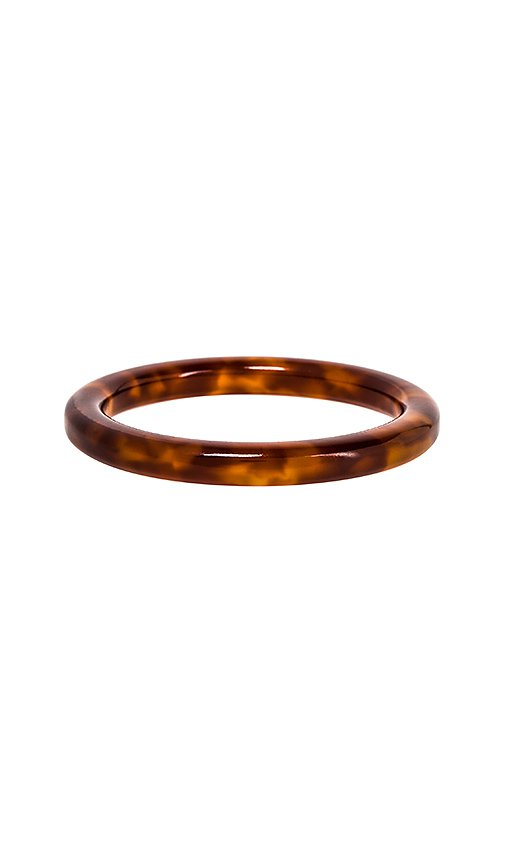 Lele Sadoughi Broadway Bangle in Caramel | REVOLVE