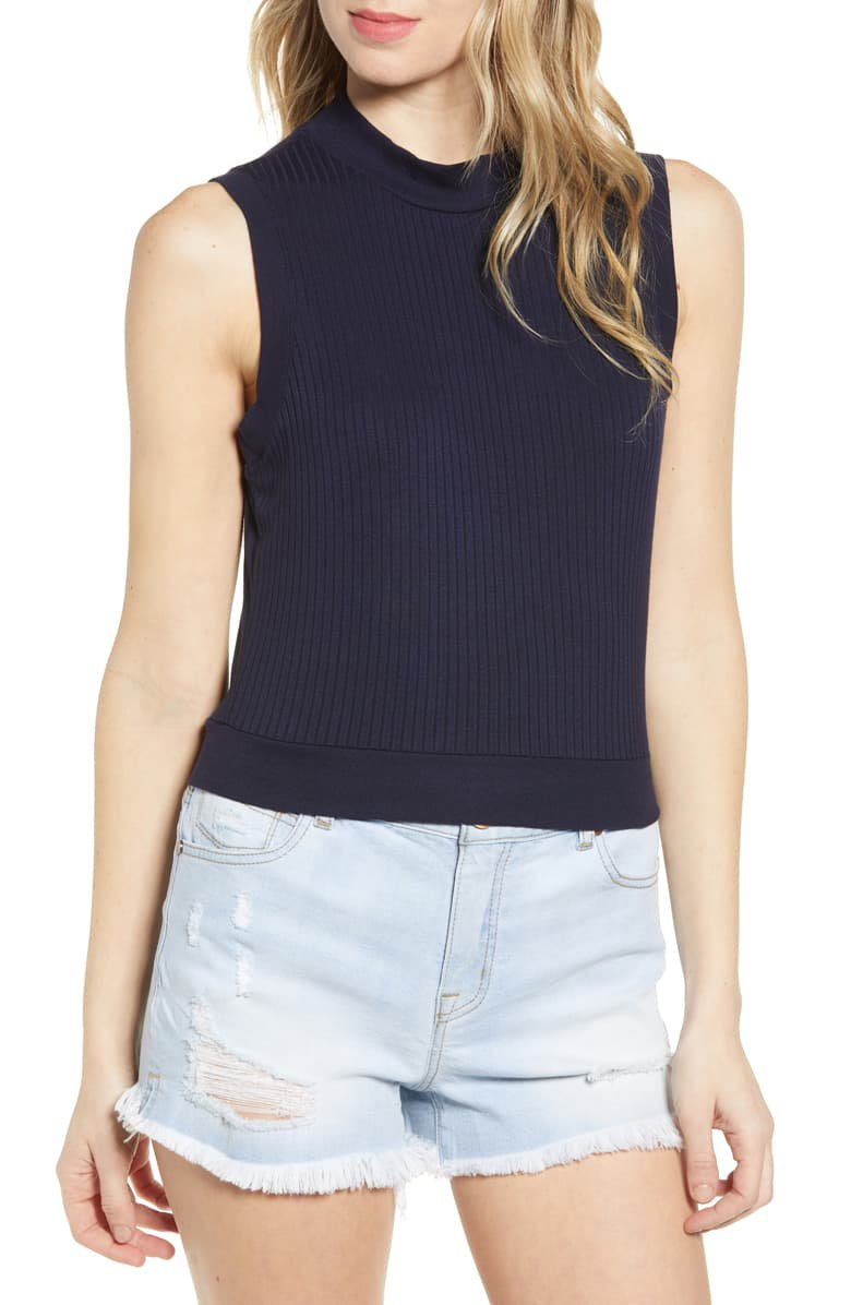 BP. Mock Neck Tank Top | Nordstrom