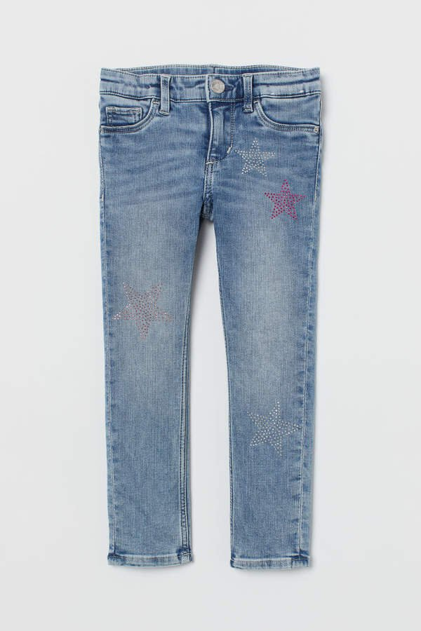 Skinny Fit Jeans - Blue