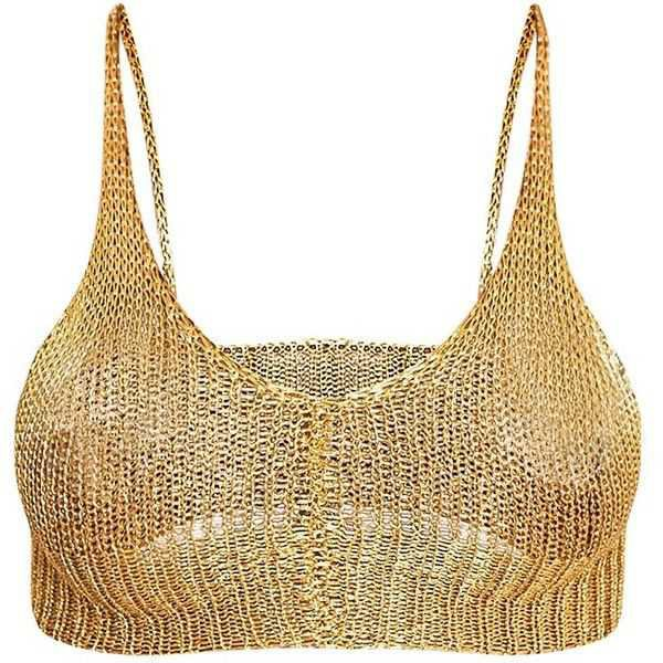 gold bralette - Google Search