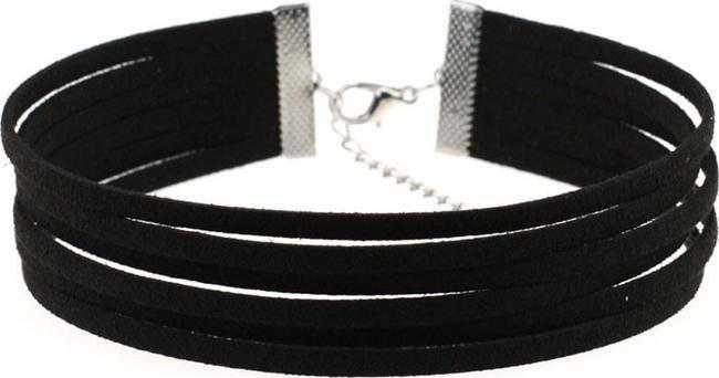 KIMBA [BLACK]    UNHOLY // necklace / choker //
