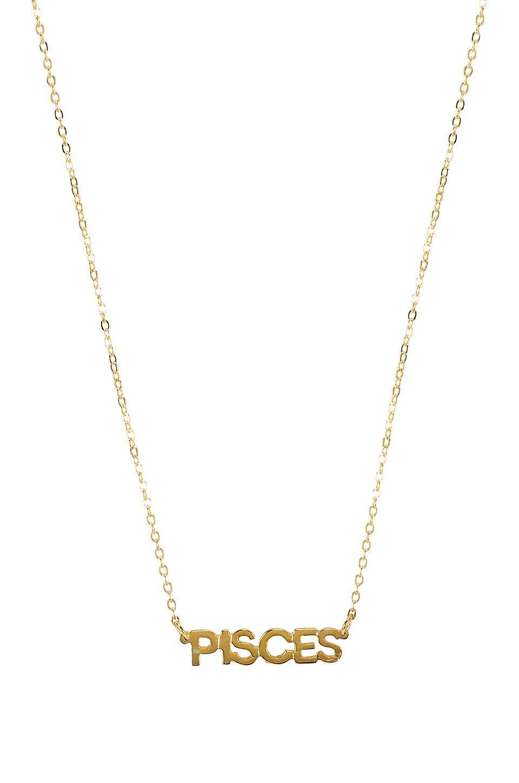 Little Zodiac Pisces Necklace
