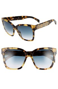 Gucci 55mm Round Sunglasses | Nordstrom
