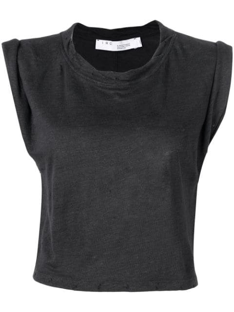 Iro cropped sleeveless top $103 - Buy Online - Mobile Friendly, Fast Delivery, Price