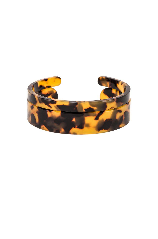 Emma Lucite Cuff Bracelet Set