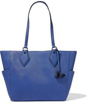 Voyage Bff Textured-leather Tote
