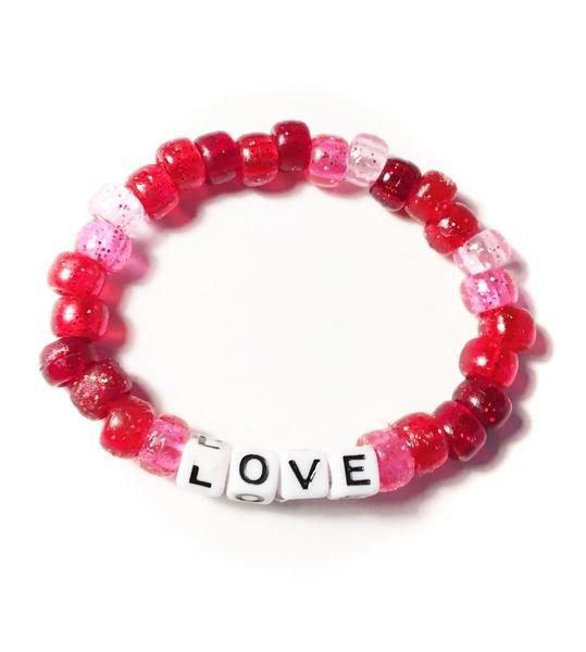 Love Beaded Bracelet