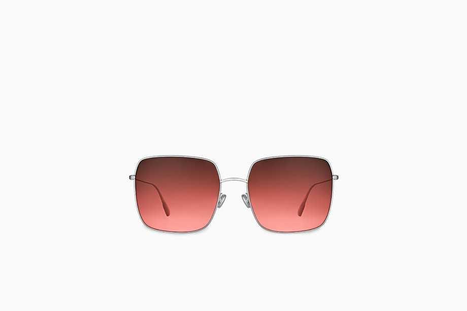 """""""DiorStellaire1"""" sunglasses, silver-tone and coral - Dior"""