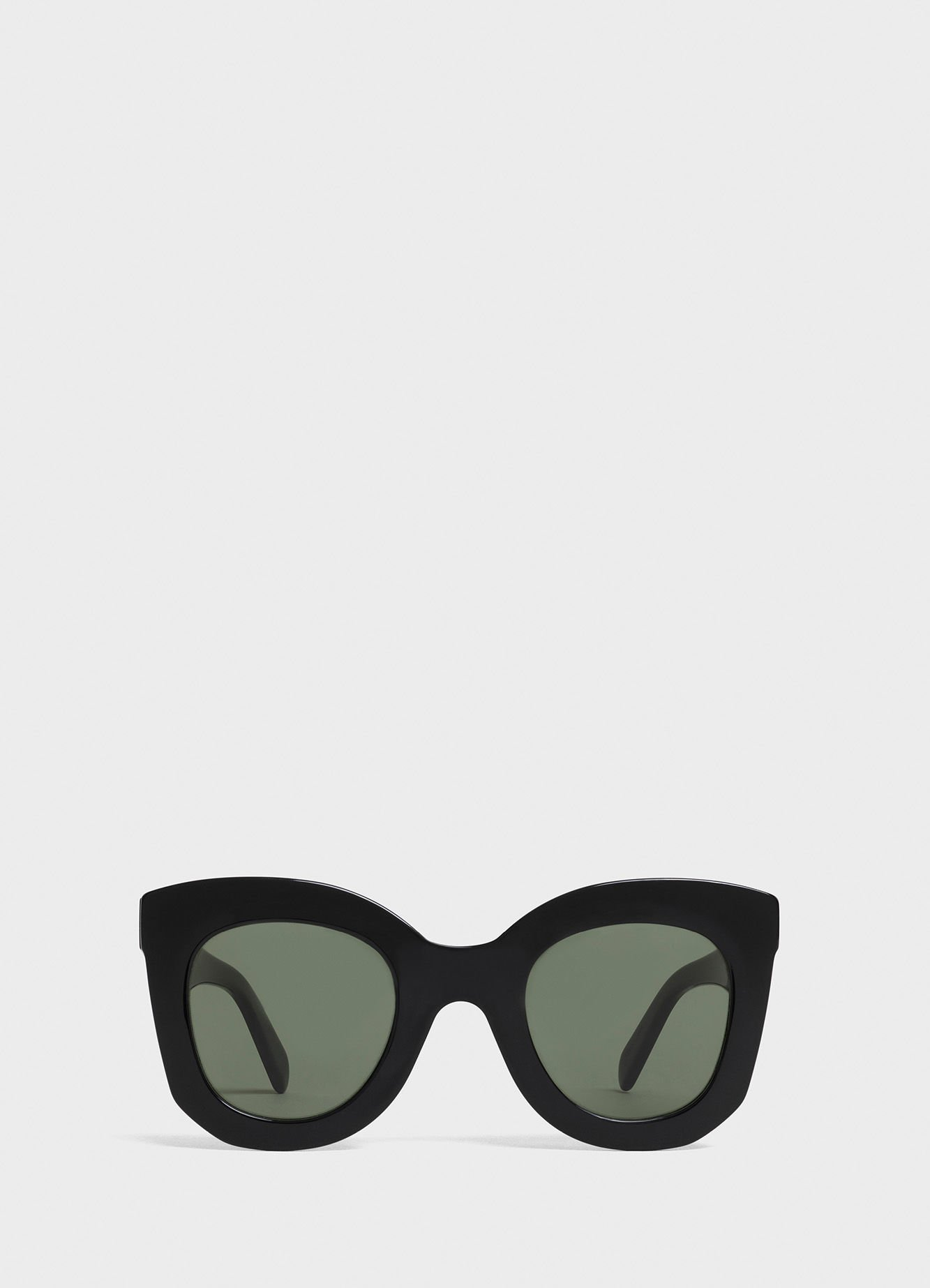 Butterfly sunglasses in acetate - Black - Official website | CELINE