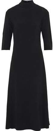 Sabrina Cutout Stretch-crepe Midi Dress