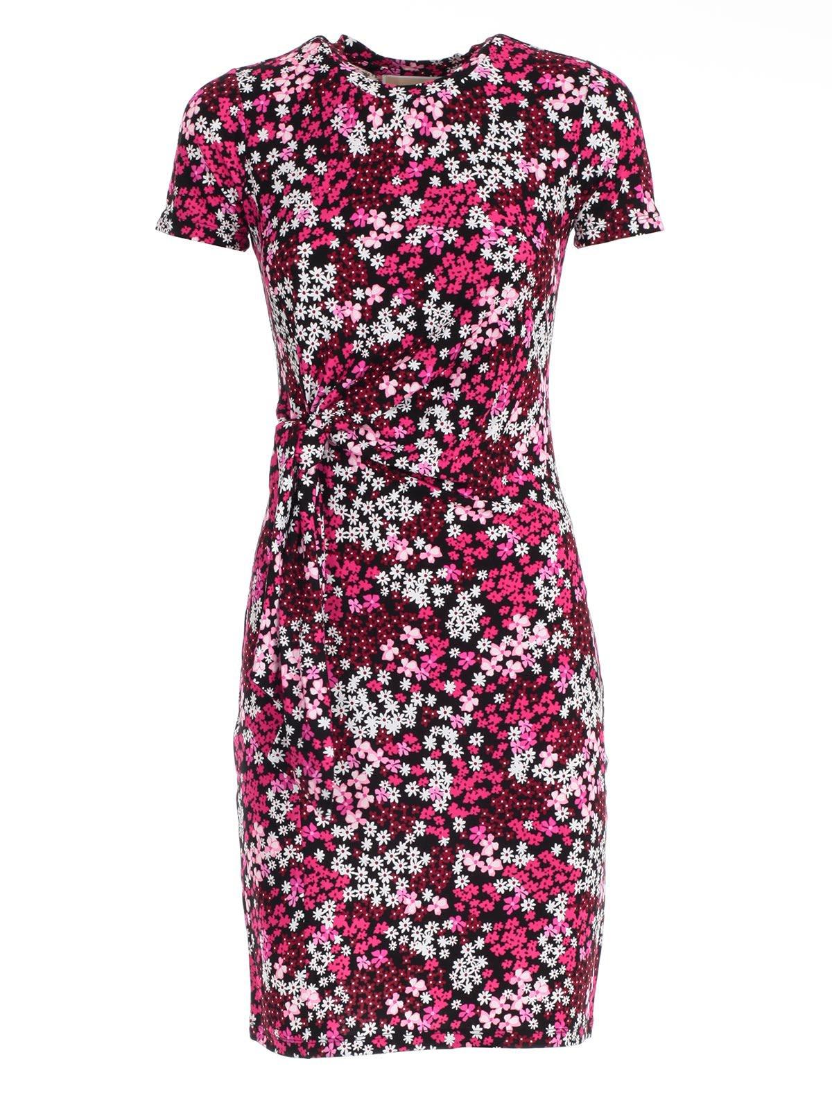 Michael Michael Kors Floral Wrap Dress