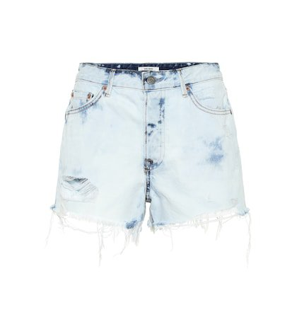 The Cindy high-rise denim shorts