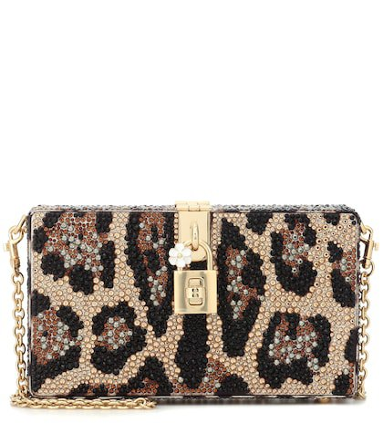 Dolce Box embellished clutch